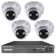 Videosec XVR-4104 + 4db XD-136 beltéri HD kamera szett