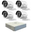 Hikvision 720P kültéri kamera szett
